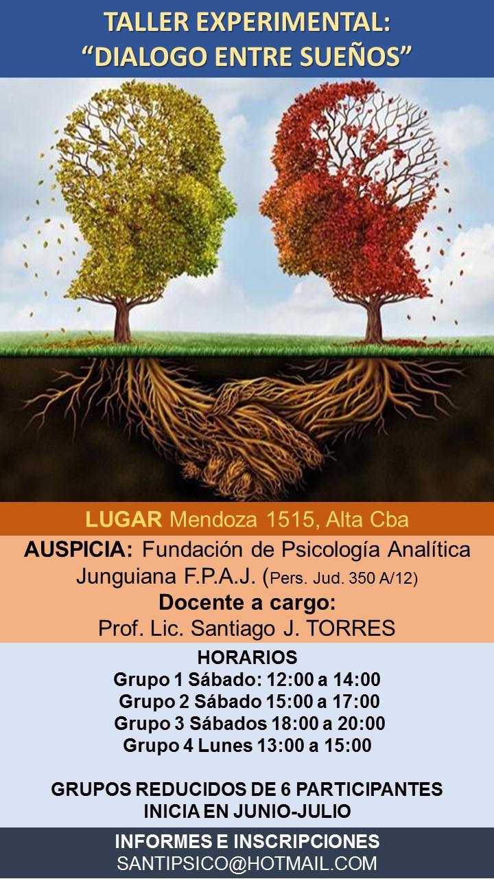dialogo sueños taller FPAJ fundacion psicología analitica junguiana