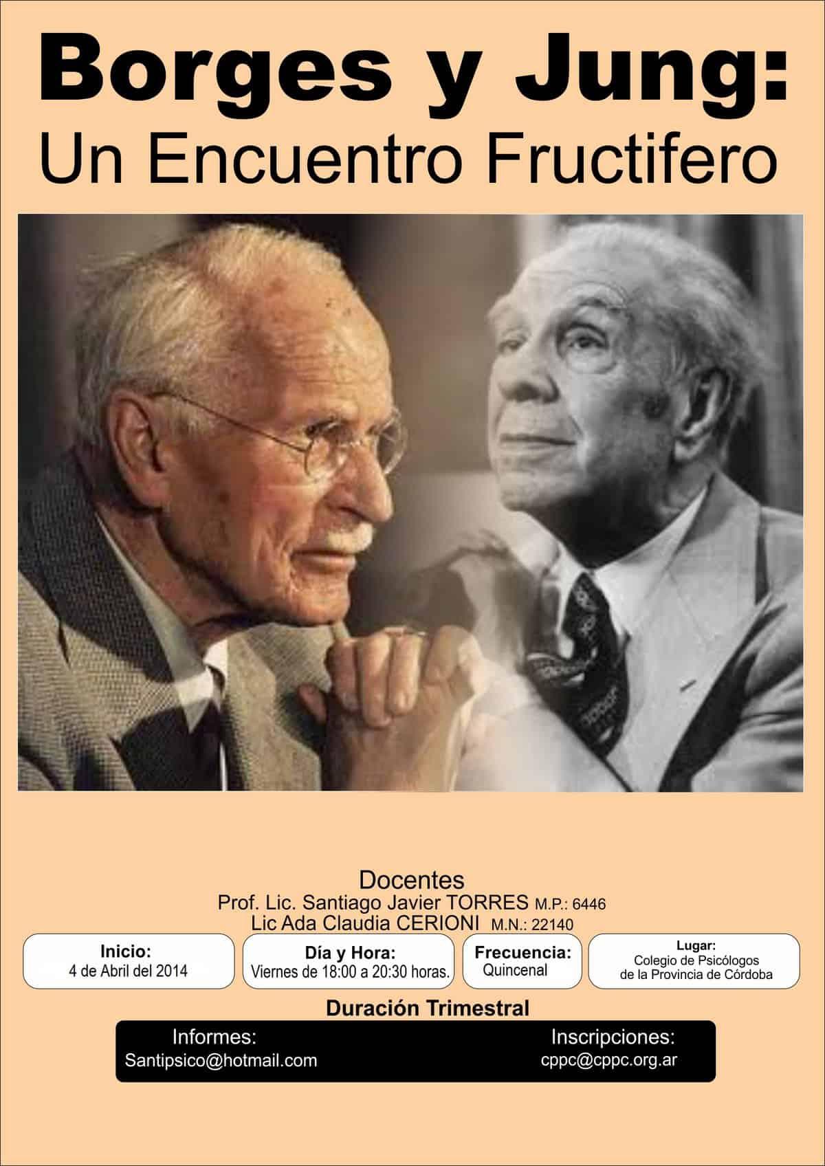 Borges Jung encuentro FPAJ fundacion psicología analitica junguiana