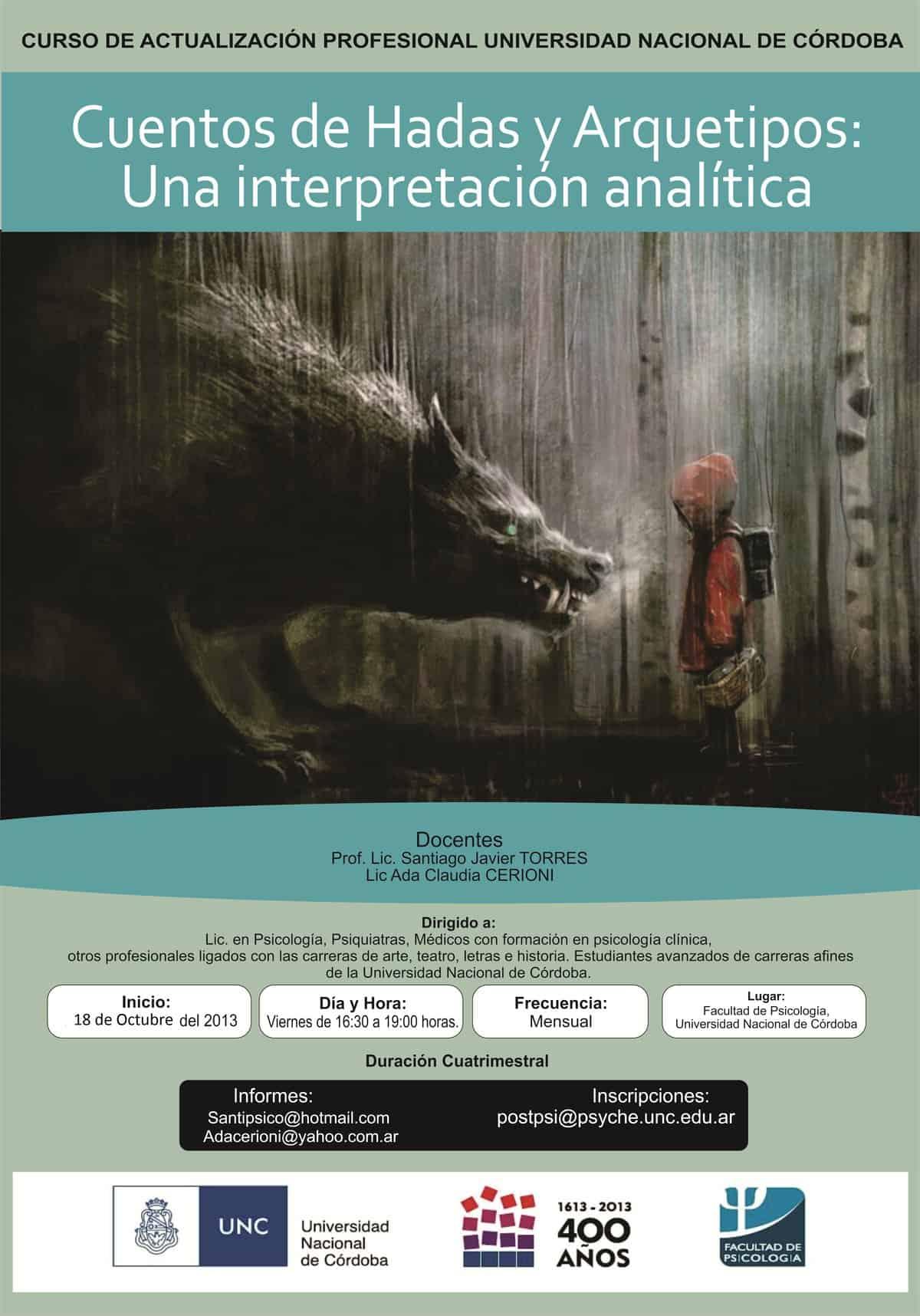 cuentos hadas arquetipos interpretacion analitica FPAJ fundacion psicología analitica junguiana