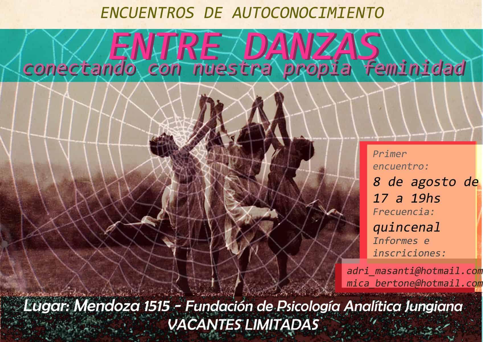 danzas feminidad encuentro FPAJ fundacion psicología analitica junguiana